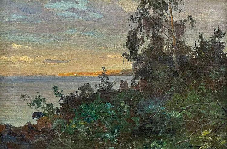 挪威Even Ulving风景油画作品插图21