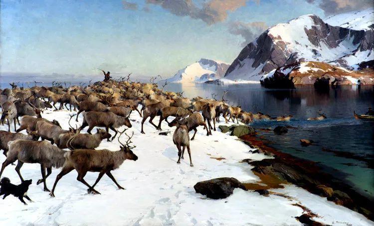 挪威Even Ulving风景油画作品插图26