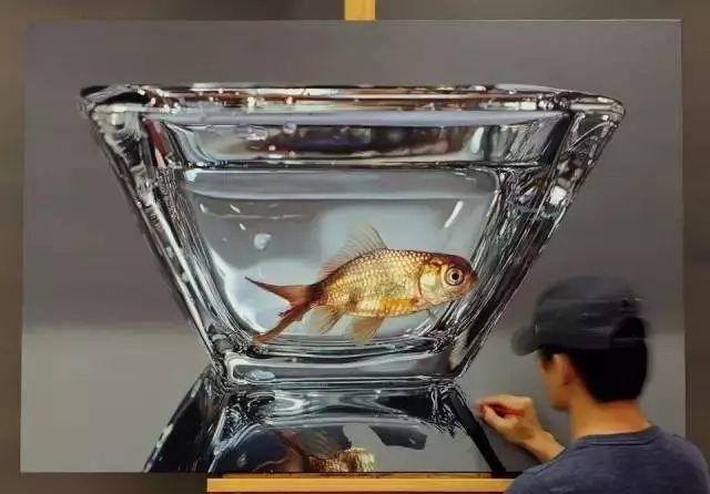 他是韩国超写实第一人,一幅画卖90万,看完简直怀疑人生!插图12