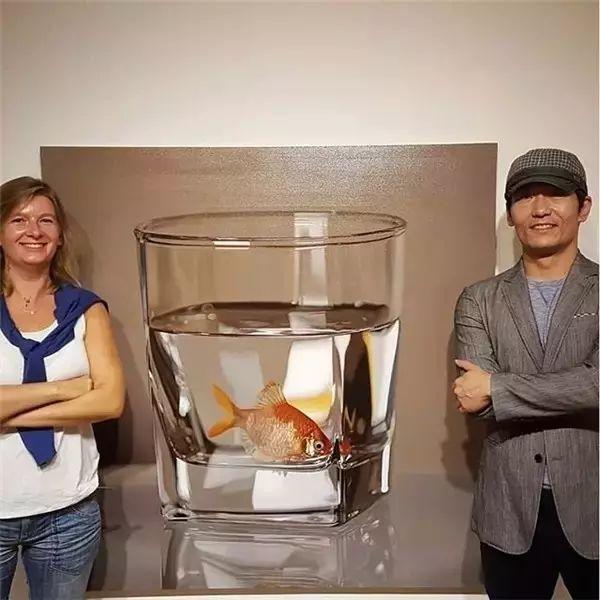 他是韩国超写实第一人,一幅画卖90万,看完简直怀疑人生!插图13