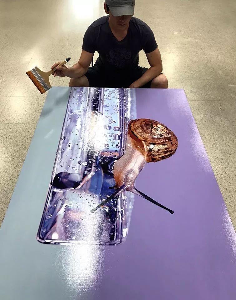 他是韩国超写实第一人,一幅画卖90万,看完简直怀疑人生!插图20