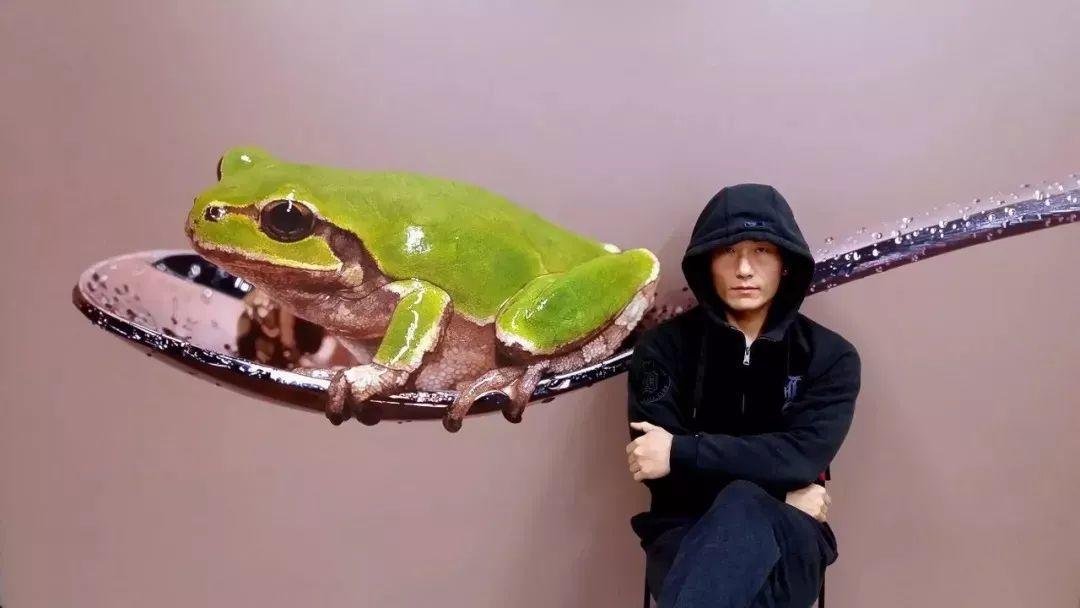 他是韩国超写实第一人,一幅画卖90万,看完简直怀疑人生!插图45
