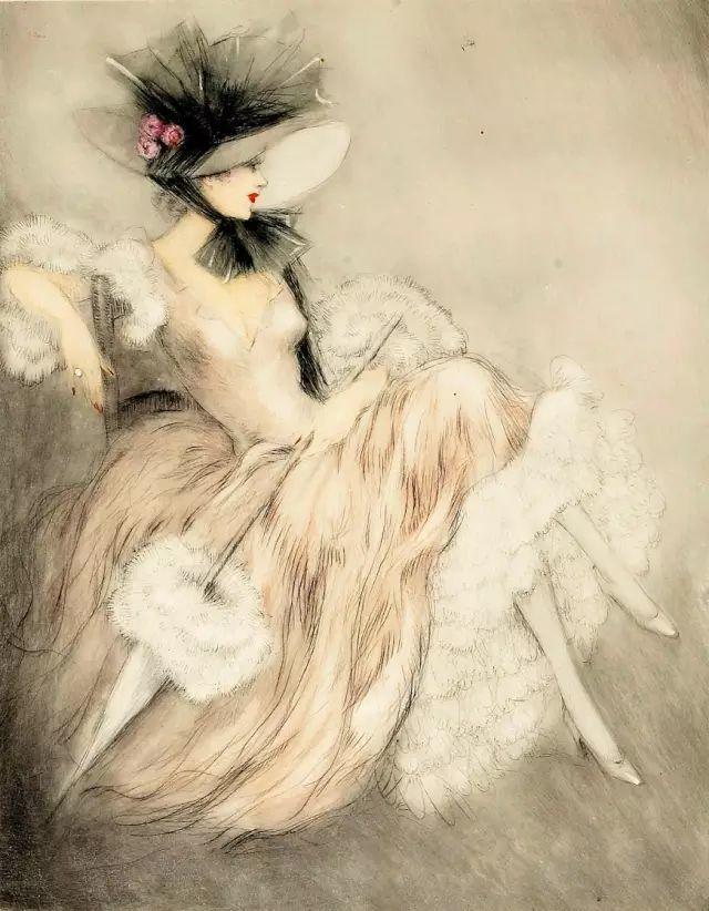 他画的女人,美得让人欲罢不能插图