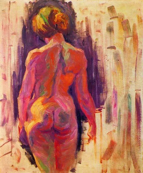 一位颇有传奇色彩的女画家——彼得洛维奇插图