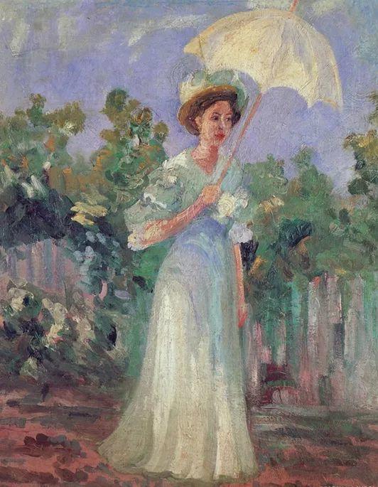 一位颇有传奇色彩的女画家——彼得洛维奇插图1