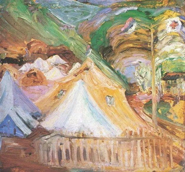 一位颇有传奇色彩的女画家——彼得洛维奇插图36