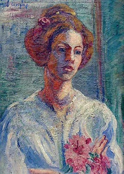 一位颇有传奇色彩的女画家——彼得洛维奇插图37