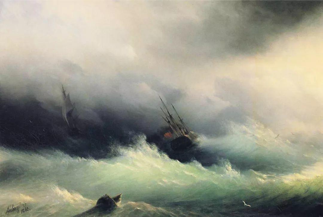 他一生勤奋,留下6000余件作品,被称为海洋的热情歌手插图