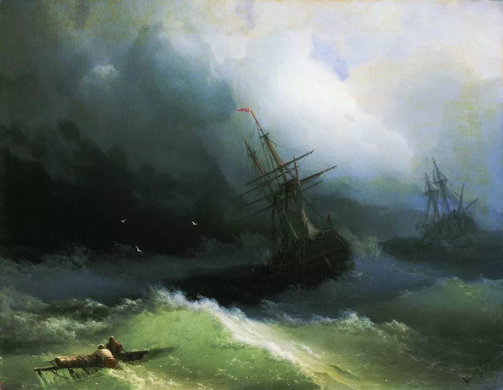 他一生勤奋,留下6000余件作品,被称为海洋的热情歌手插图1