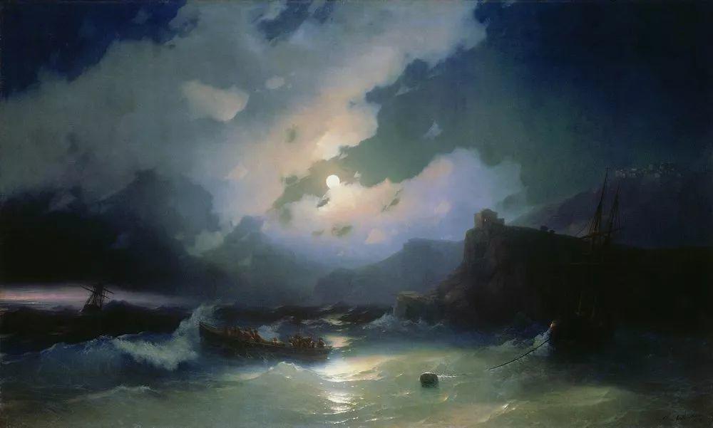 他一生勤奋,留下6000余件作品,被称为海洋的热情歌手插图4