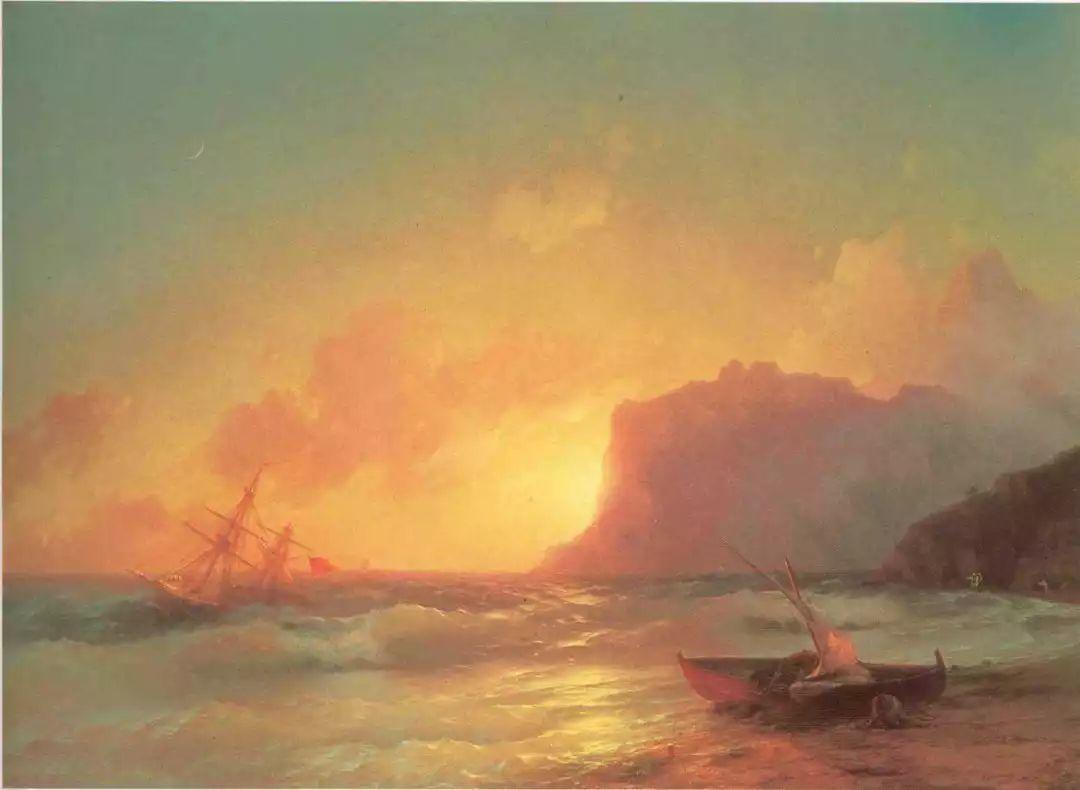 他一生勤奋,留下6000余件作品,被称为海洋的热情歌手插图5