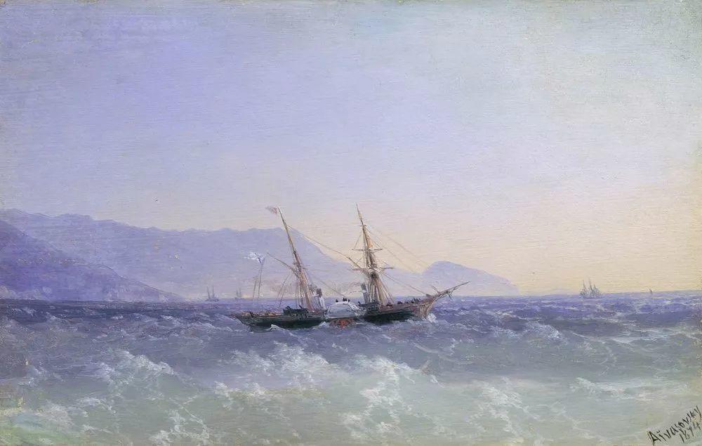 他一生勤奋,留下6000余件作品,被称为海洋的热情歌手插图12