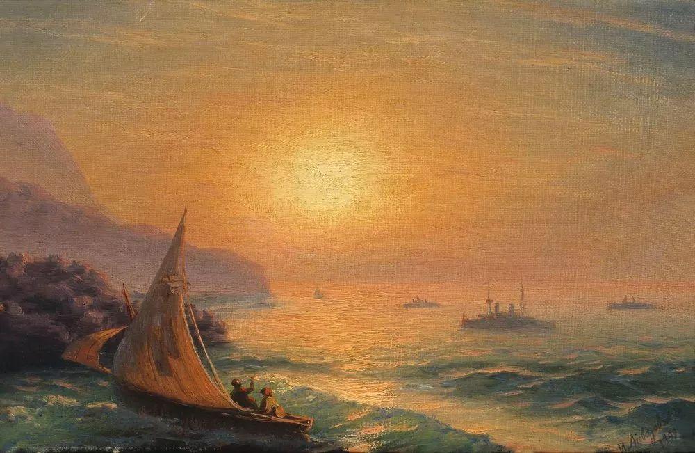 他一生勤奋,留下6000余件作品,被称为海洋的热情歌手插图20