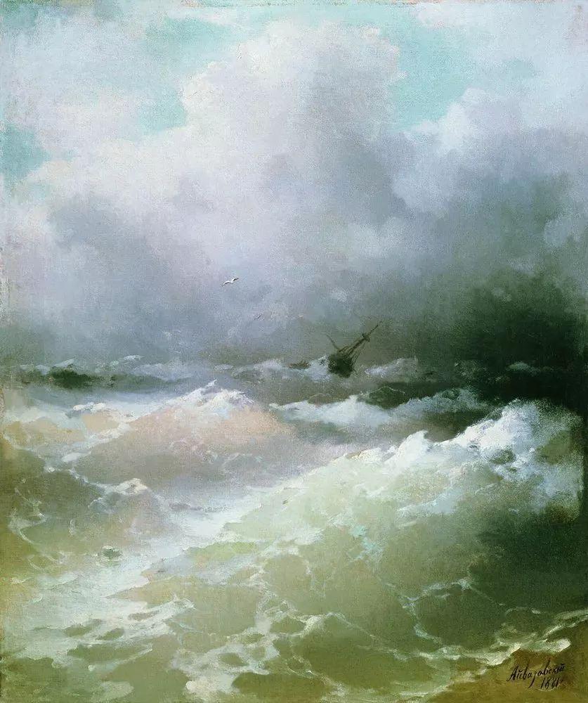 他一生勤奋,留下6000余件作品,被称为海洋的热情歌手插图33