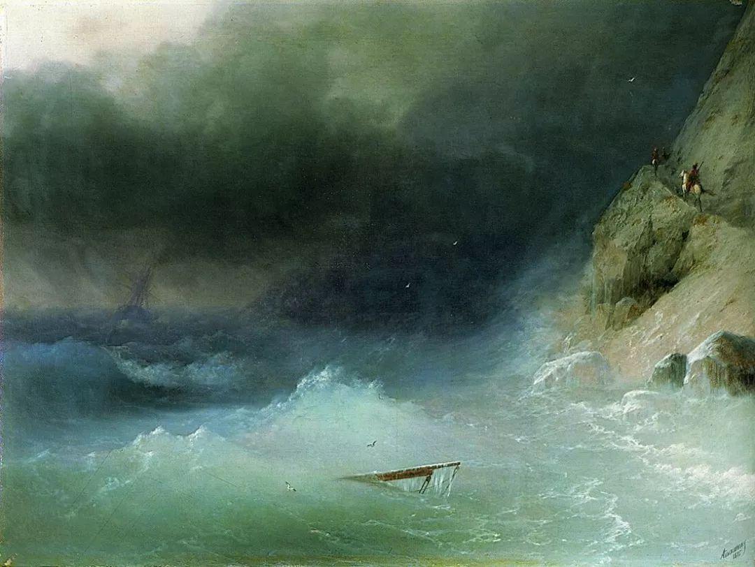 他一生勤奋,留下6000余件作品,被称为海洋的热情歌手插图49