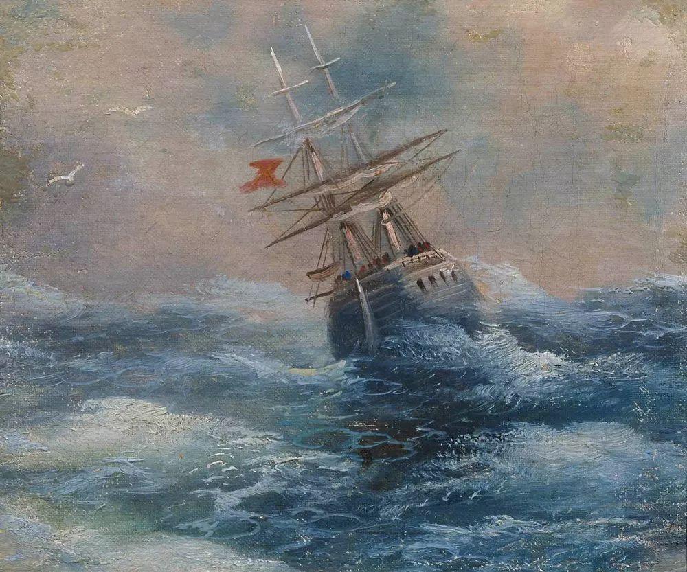 他一生勤奋,留下6000余件作品,被称为海洋的热情歌手插图50