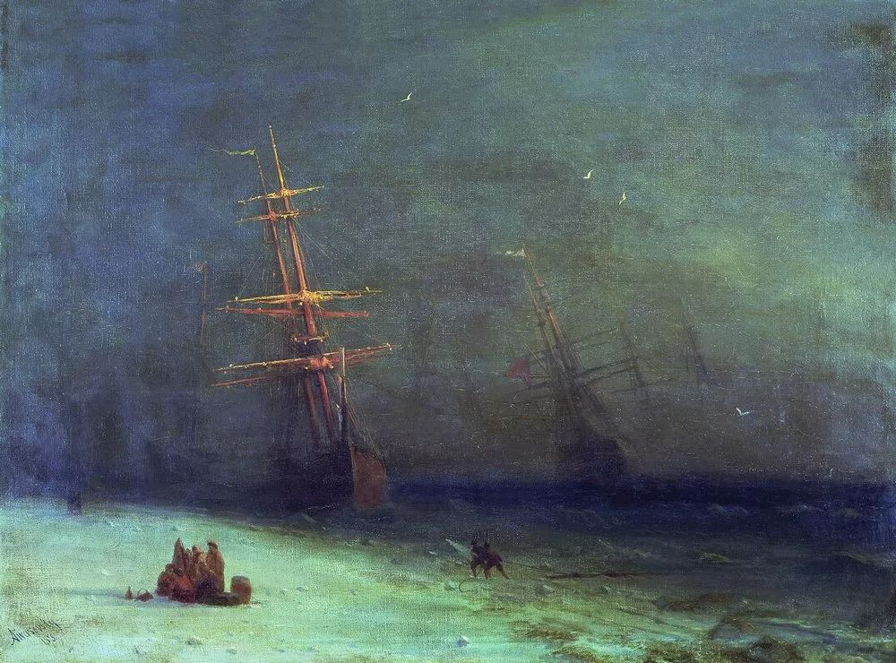 他一生勤奋,留下6000余件作品,被称为海洋的热情歌手插图53