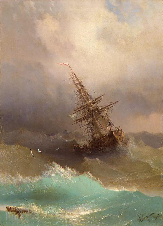 他一生勤奋,留下6000余件作品,被称为海洋的热情歌手插图54