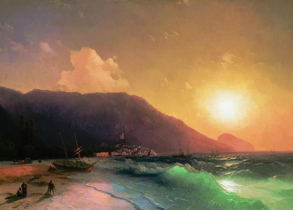 他一生勤奋,留下6000余件作品,被称为海洋的热情歌手插图55