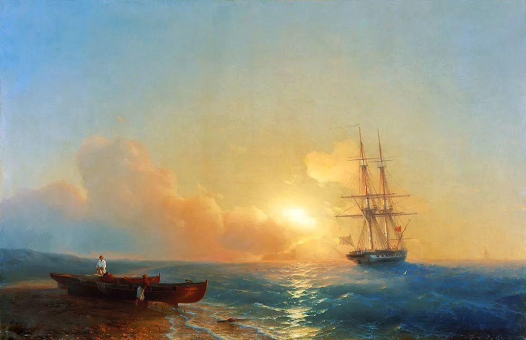 他一生勤奋,留下6000余件作品,被称为海洋的热情歌手插图57