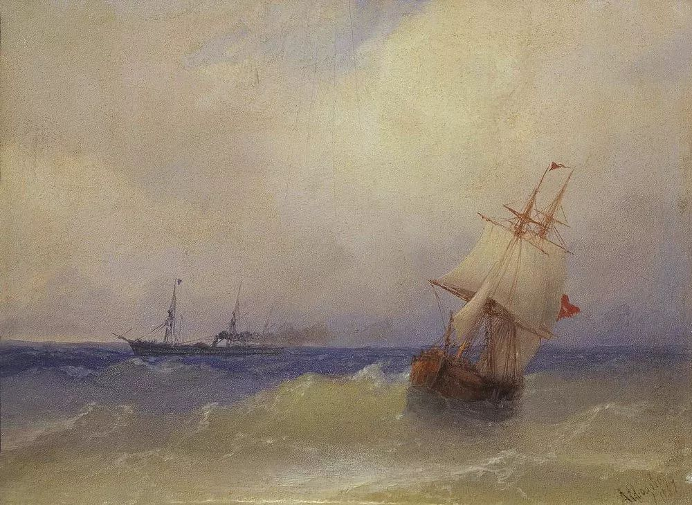 他一生勤奋,留下6000余件作品,被称为海洋的热情歌手插图63