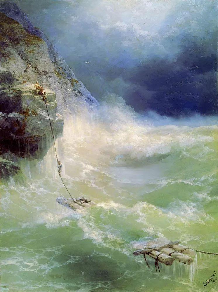 他一生勤奋,留下6000余件作品,被称为海洋的热情歌手插图77