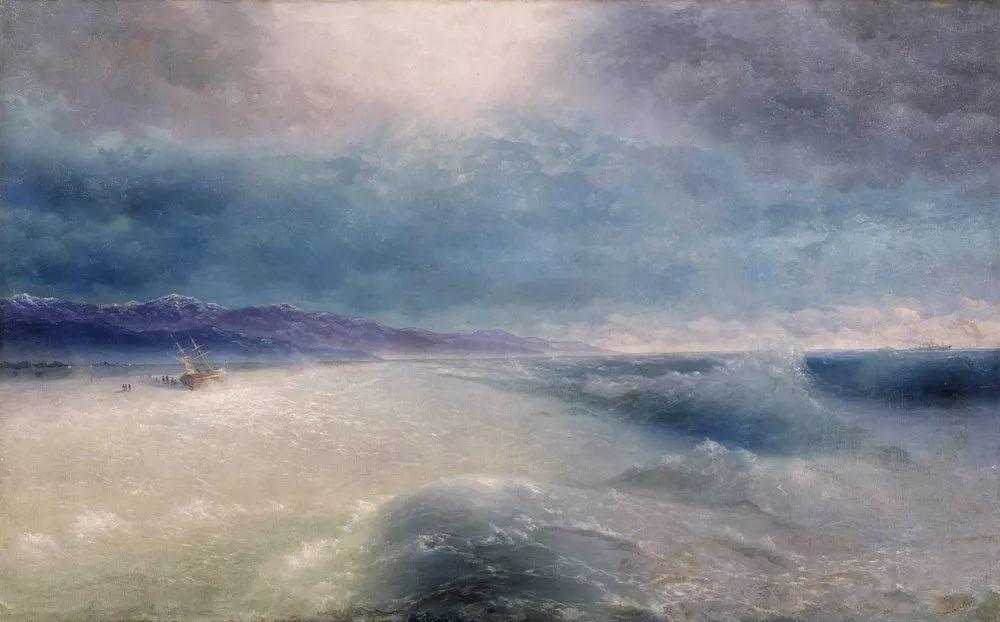 他一生勤奋,留下6000余件作品,被称为海洋的热情歌手插图80