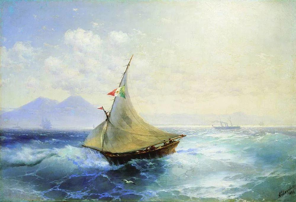 他一生勤奋,留下6000余件作品,被称为海洋的热情歌手插图83