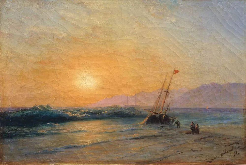 他一生勤奋,留下6000余件作品,被称为海洋的热情歌手插图93