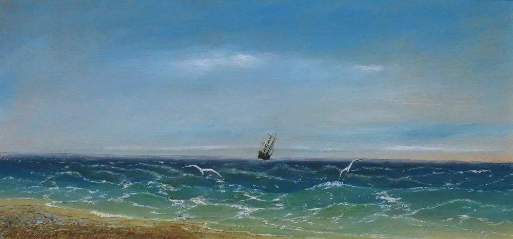 他一生勤奋,留下6000余件作品,被称为海洋的热情歌手插图95