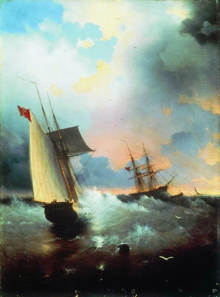他一生勤奋,留下6000余件作品,被称为海洋的热情歌手插图99
