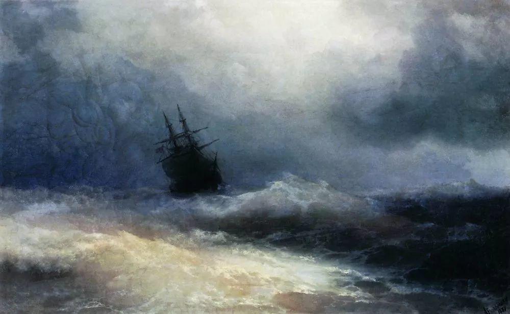 他一生勤奋,留下6000余件作品,被称为海洋的热情歌手插图120