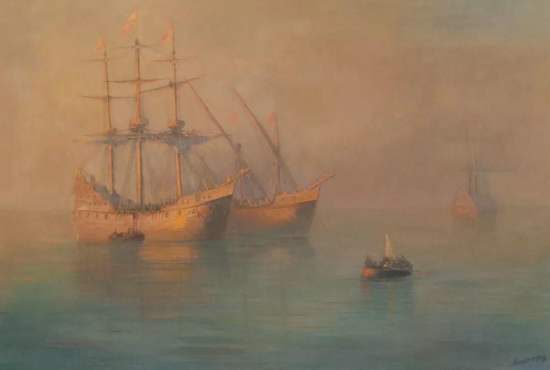 他一生勤奋,留下6000余件作品,被称为海洋的热情歌手插图125