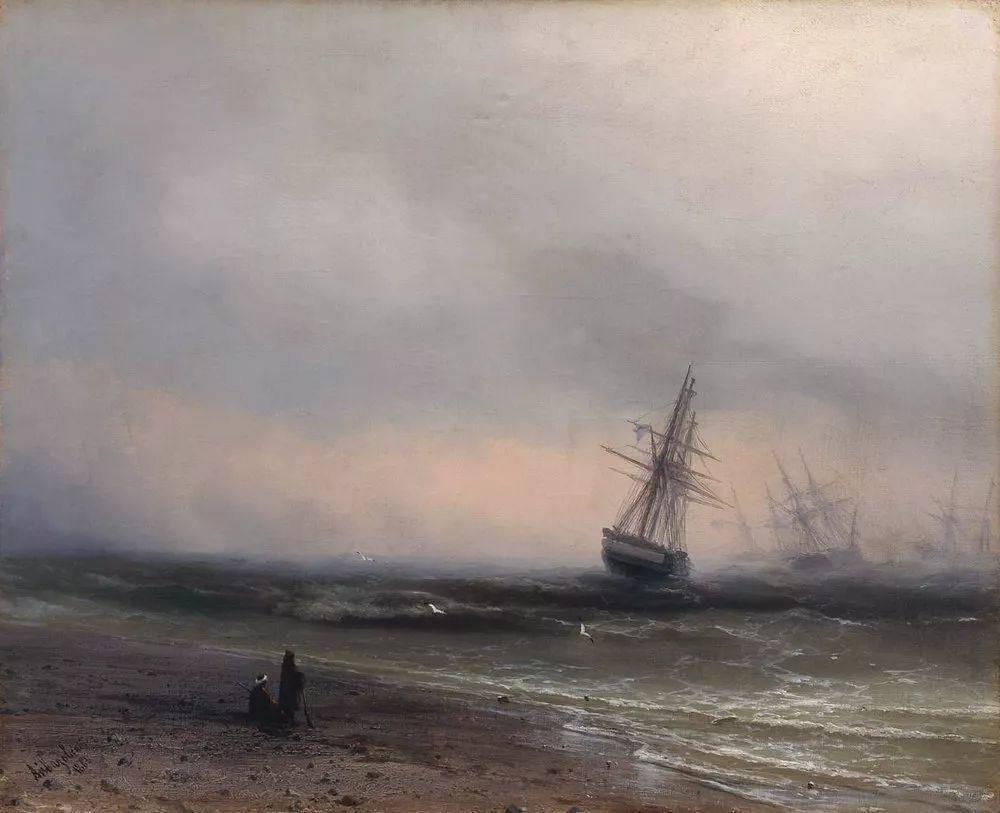他一生勤奋,留下6000余件作品,被称为海洋的热情歌手插图136