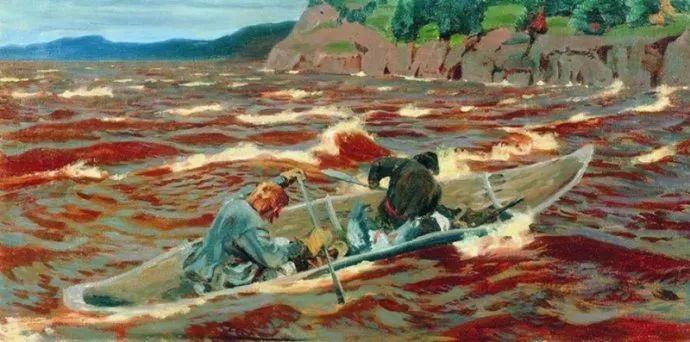 俄罗斯象征主义画家Arkady Rylov插图13