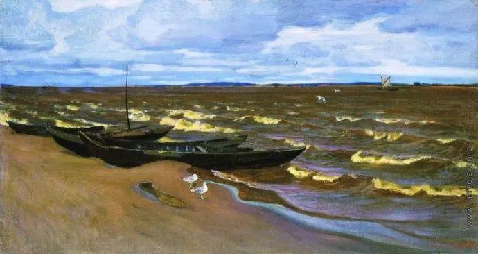 俄罗斯象征主义画家Arkady Rylov插图17