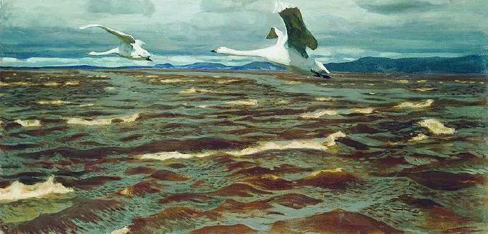俄罗斯象征主义画家Arkady Rylov插图19