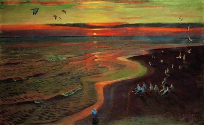 俄罗斯象征主义画家Arkady Rylov插图21