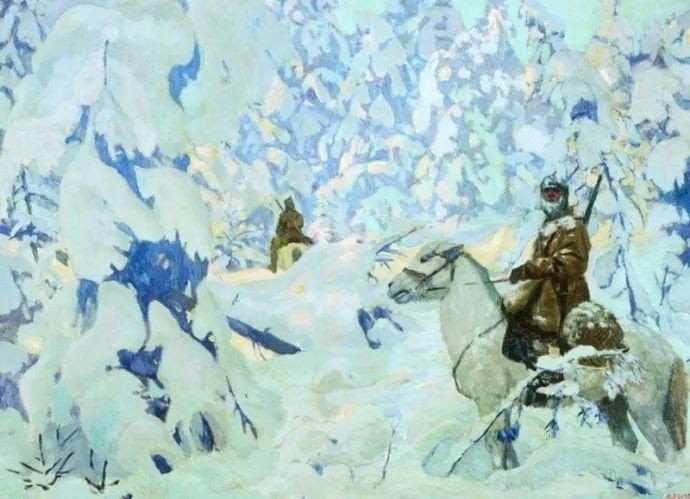 俄罗斯象征主义画家Arkady Rylov插图28