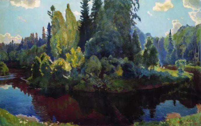 俄罗斯象征主义画家Arkady Rylov插图29