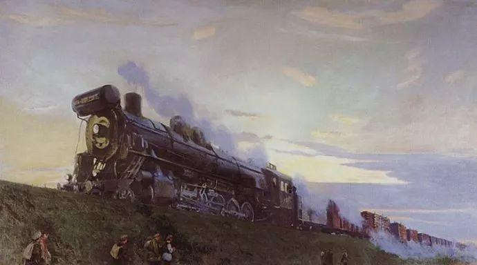 俄罗斯象征主义画家Arkady Rylov插图32