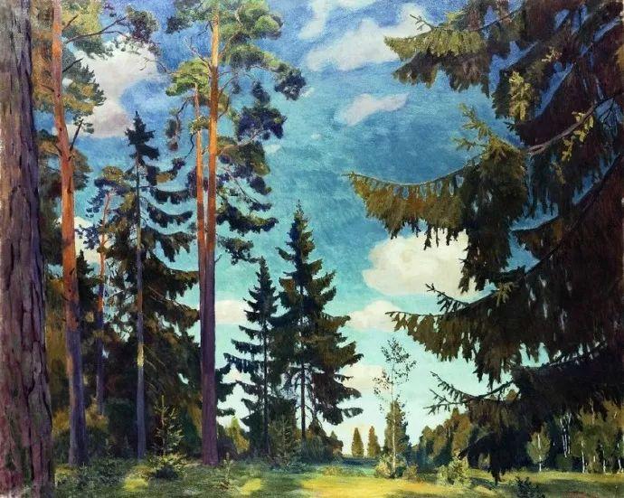 俄罗斯象征主义画家Arkady Rylov插图33