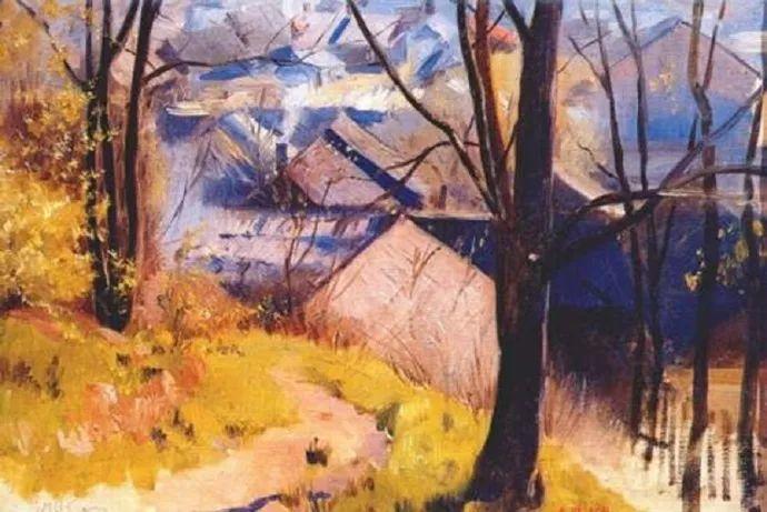 俄罗斯象征主义画家Arkady Rylov插图34