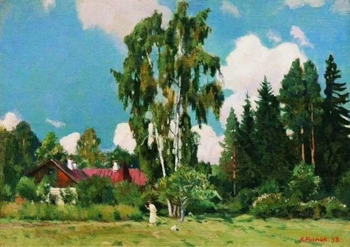 俄罗斯象征主义画家Arkady Rylov插图35