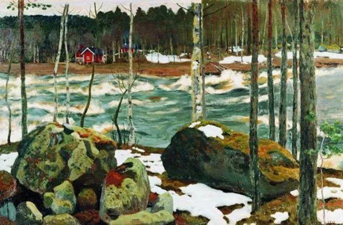 俄罗斯象征主义画家Arkady Rylov插图38