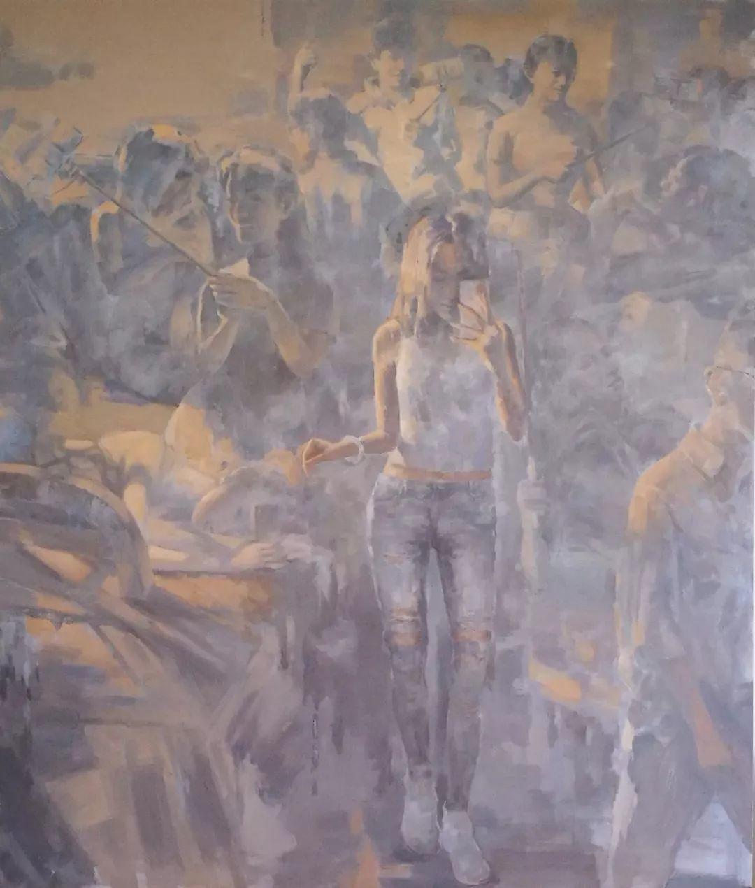 山水画般的诗意——张洪油画作品欣赏插图9