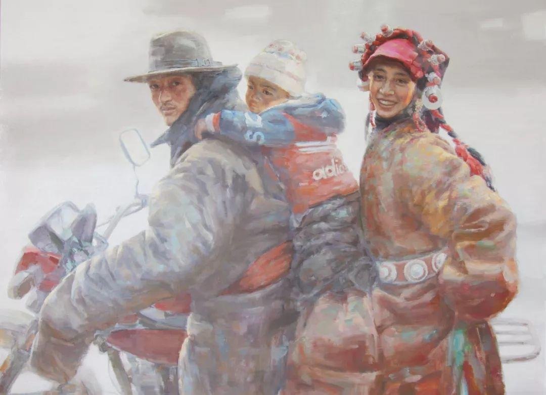 山水画般的诗意——张洪油画作品欣赏插图13