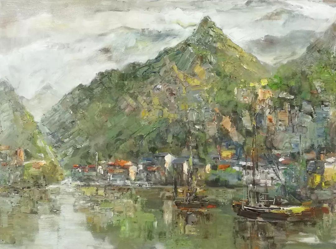 山水画般的诗意——张洪油画作品欣赏插图33