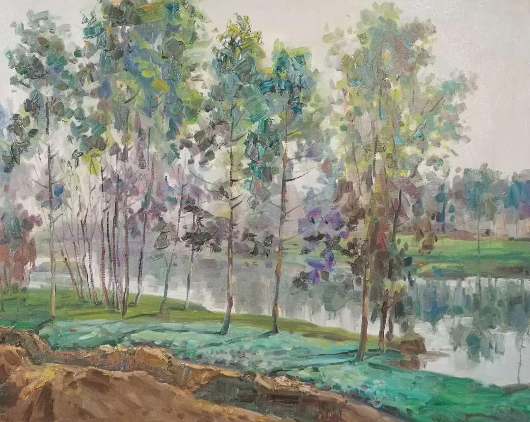 山水画般的诗意——张洪油画作品欣赏插图49