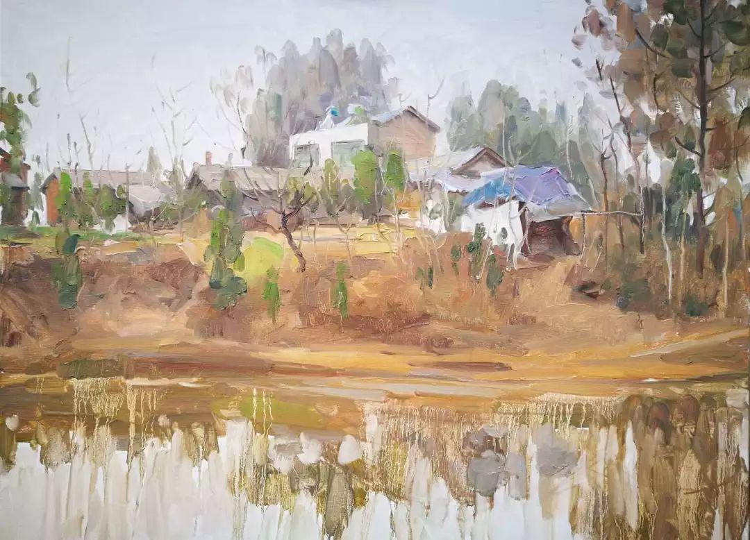 山水画般的诗意——张洪油画作品欣赏插图51